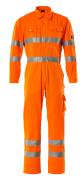 00419-860-14 Overall mit Knietaschen - hi-vis Orange