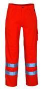 00479-860-14 Hose mit Knietaschen - hi-vis Orange