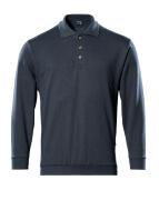 00785-280-010 Polo-Sweatshirt - Schwarzblau