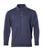 00785-280-01 Polo-Sweatshirt - Marine
