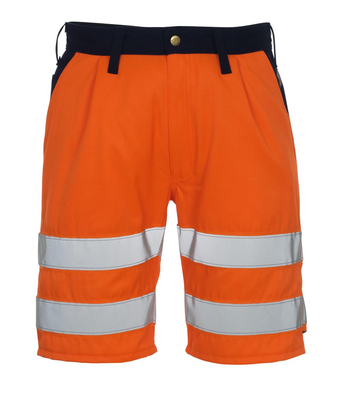 00949-860-141 Shorts - hi-vis Orange/Marine
