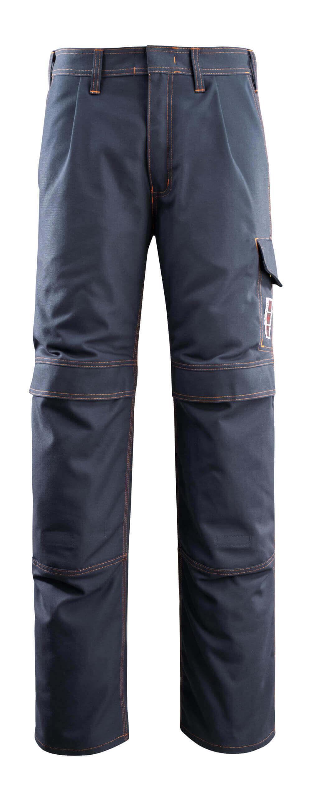 06679-135-010 Hose mit Knietaschen - Schwarzblau