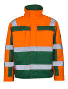 07123-126-1403 Pilotjacke - hi-vis Orange/Grün
