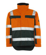 07223-880-1403 Winterjacke - hi-vis Orange/Grün
