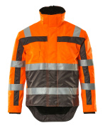 07223-880-14888 Winterjacke - hi-vis Orange/Anthrazit