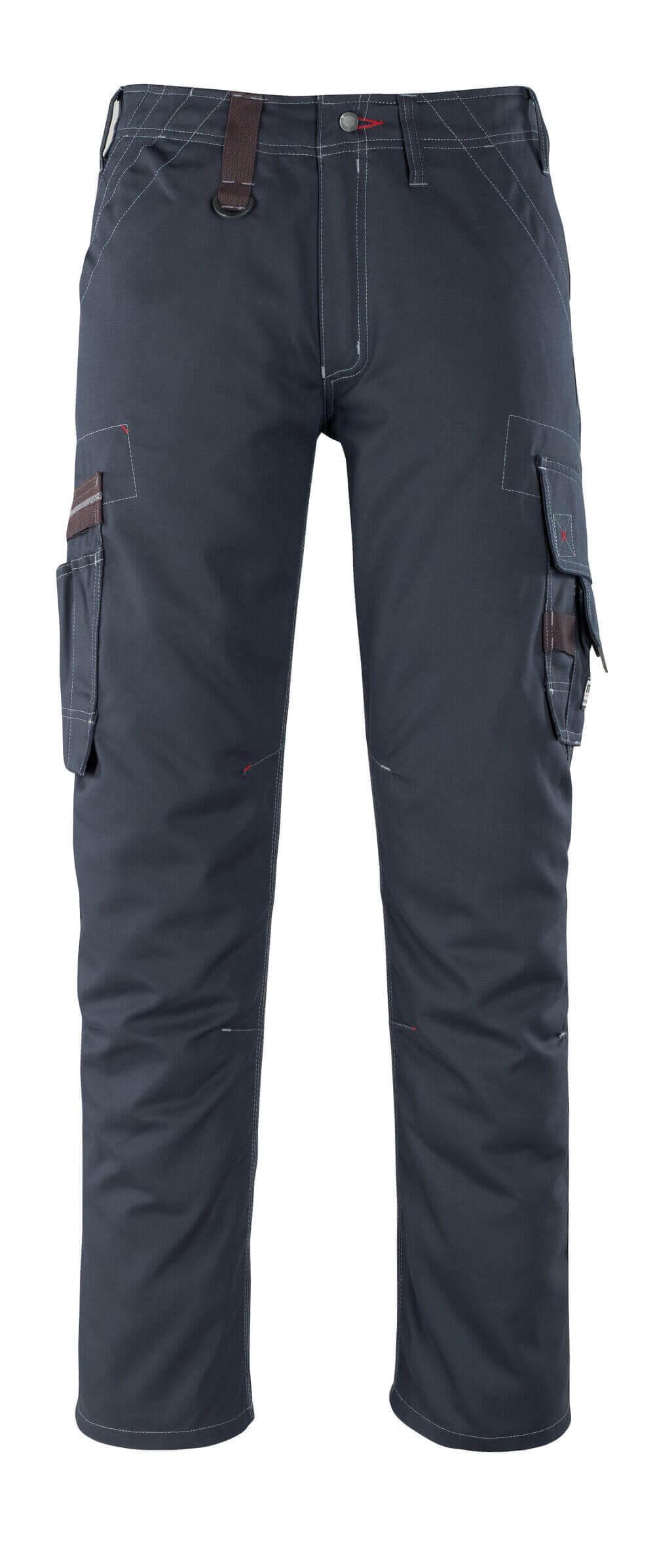 07279-154-010 Hose mit Schenkeltaschen - Schwarzblau