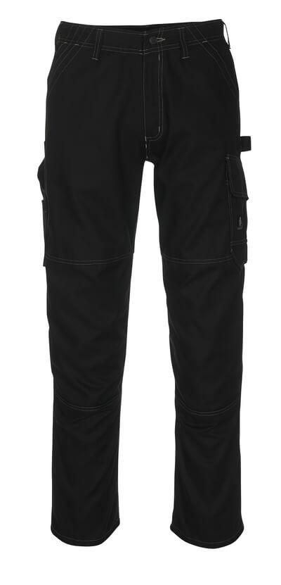 08679-154-09 Hose mit Schenkeltaschen - Schwarz