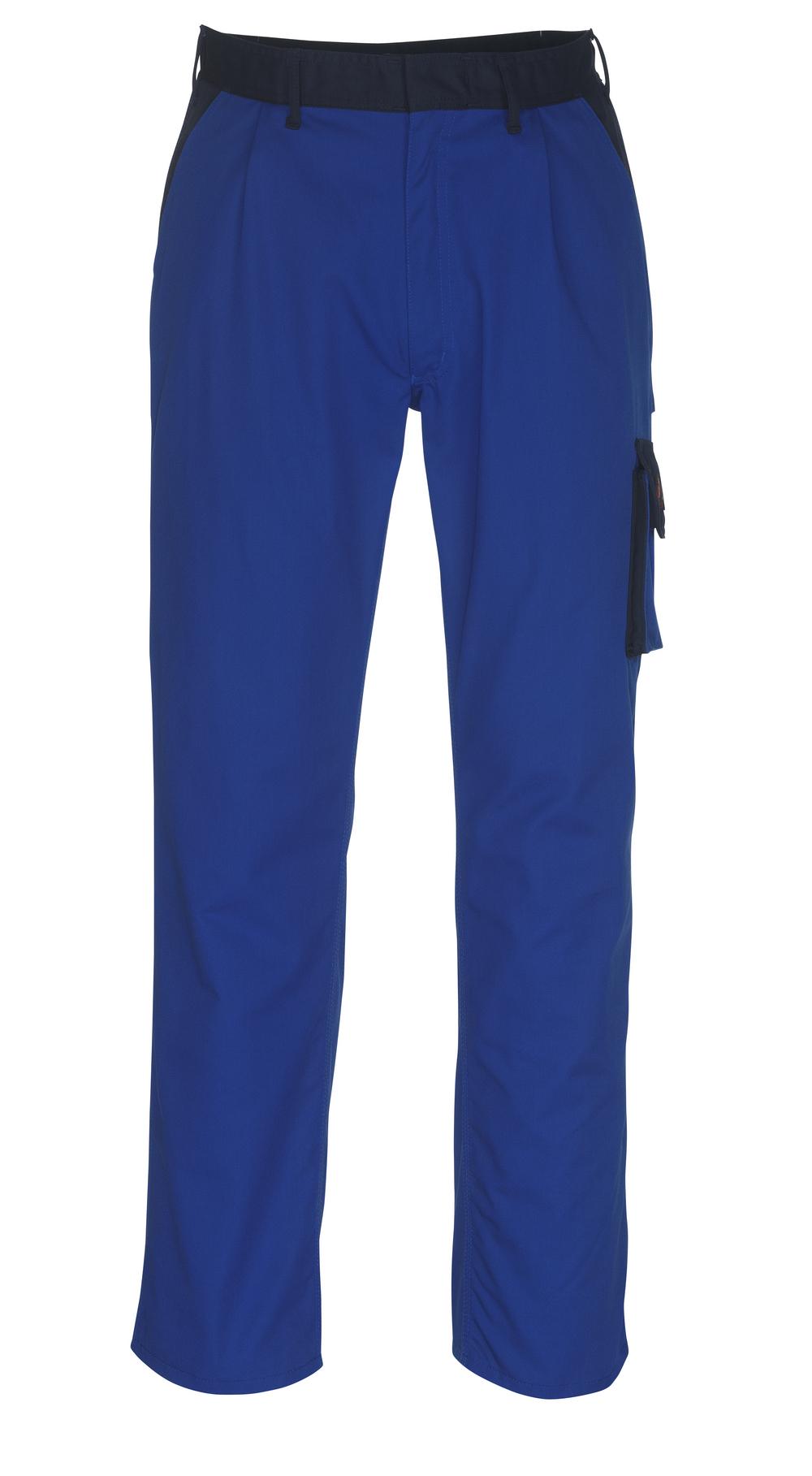 08779-442-1101 Hose mit Schenkeltaschen - Kornblau/Marine