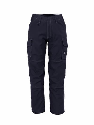 10279-154-010 Hose mit Schenkeltaschen - Schwarzblau