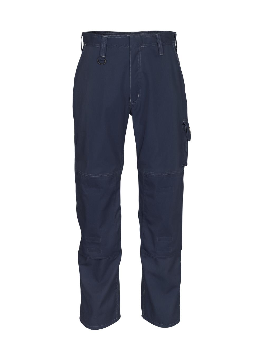 10579-442-010 Hose mit Knietaschen - Schwarzblau