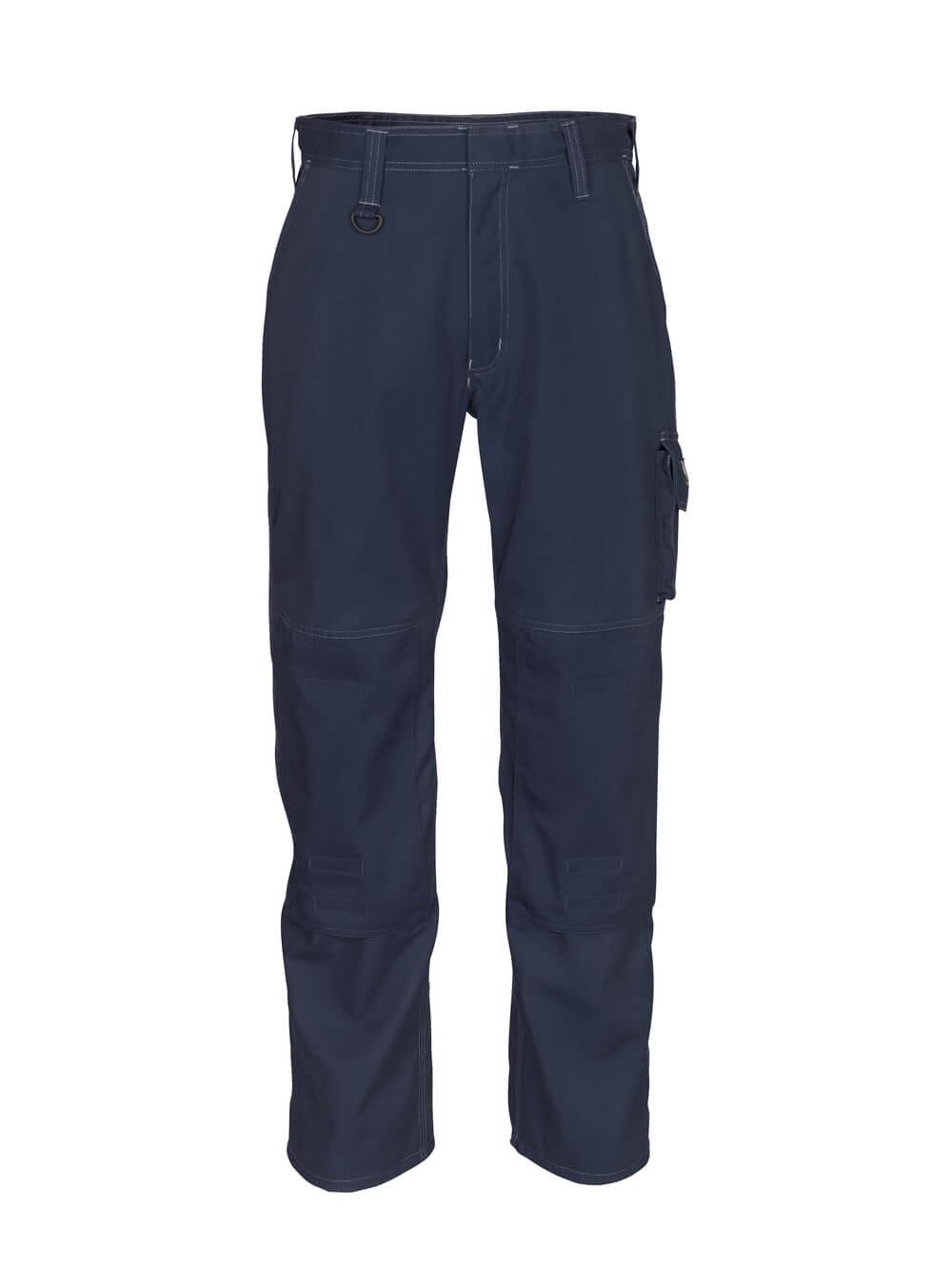12355-630-010 Hose mit Knietaschen - Schwarzblau