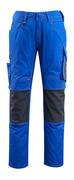 12679-442-11010 Hose mit Knietaschen - Kornblau/Schwarzblau