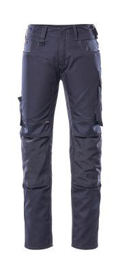 12779-442-010 Hose mit Knietaschen - Schwarzblau