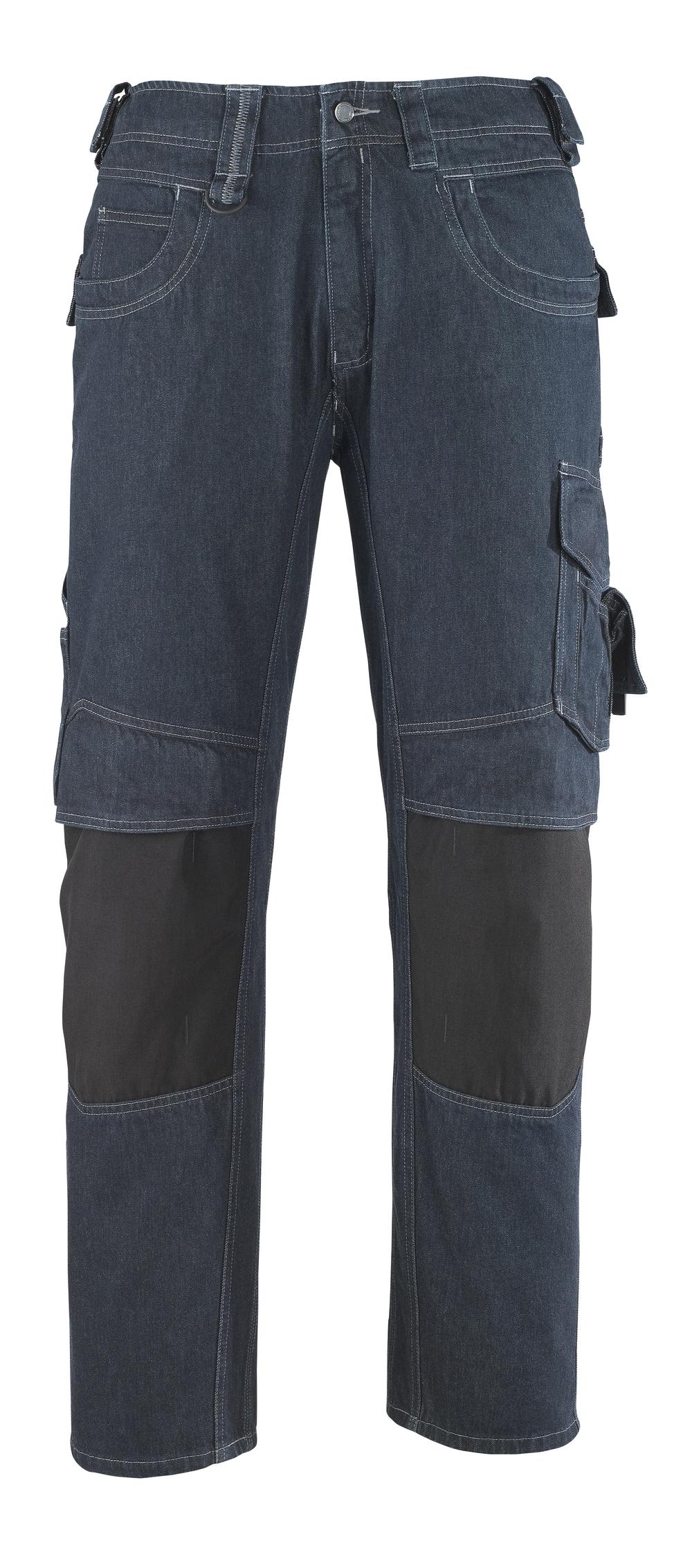 13279-207-B52 Jeans mit Knietaschen - Denimblau