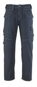 13379-207-B52 Jeans mit Schenkeltaschen - Denimblau