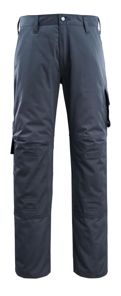 14379-850-010 Hose mit Knietaschen - Schwarzblau