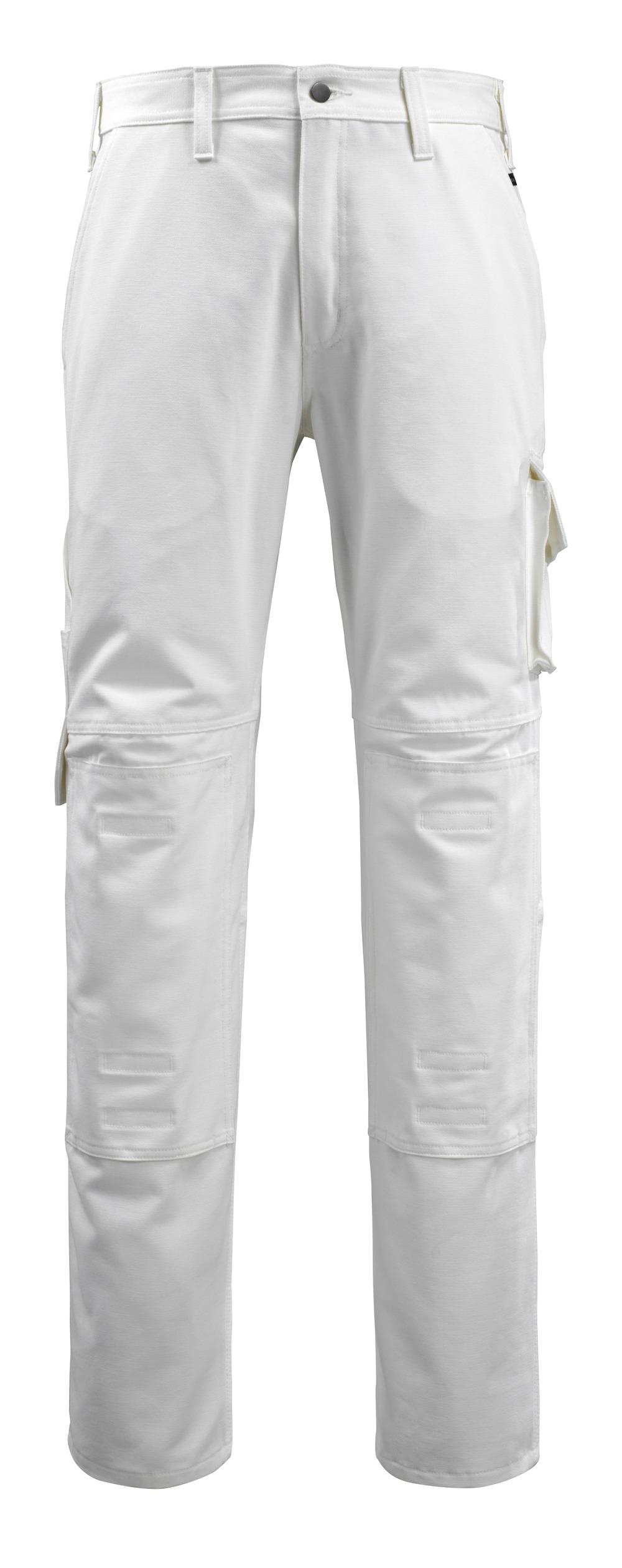 14579-197-06 Hose mit Knietaschen - Weiß