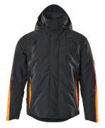 15035-222-01014 Winterjacke - Schwarzblau/hi-vis Orange