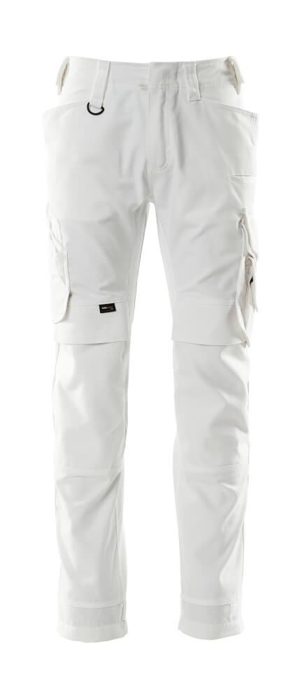 15079-010-06 Hose mit Knietaschen - Weiß