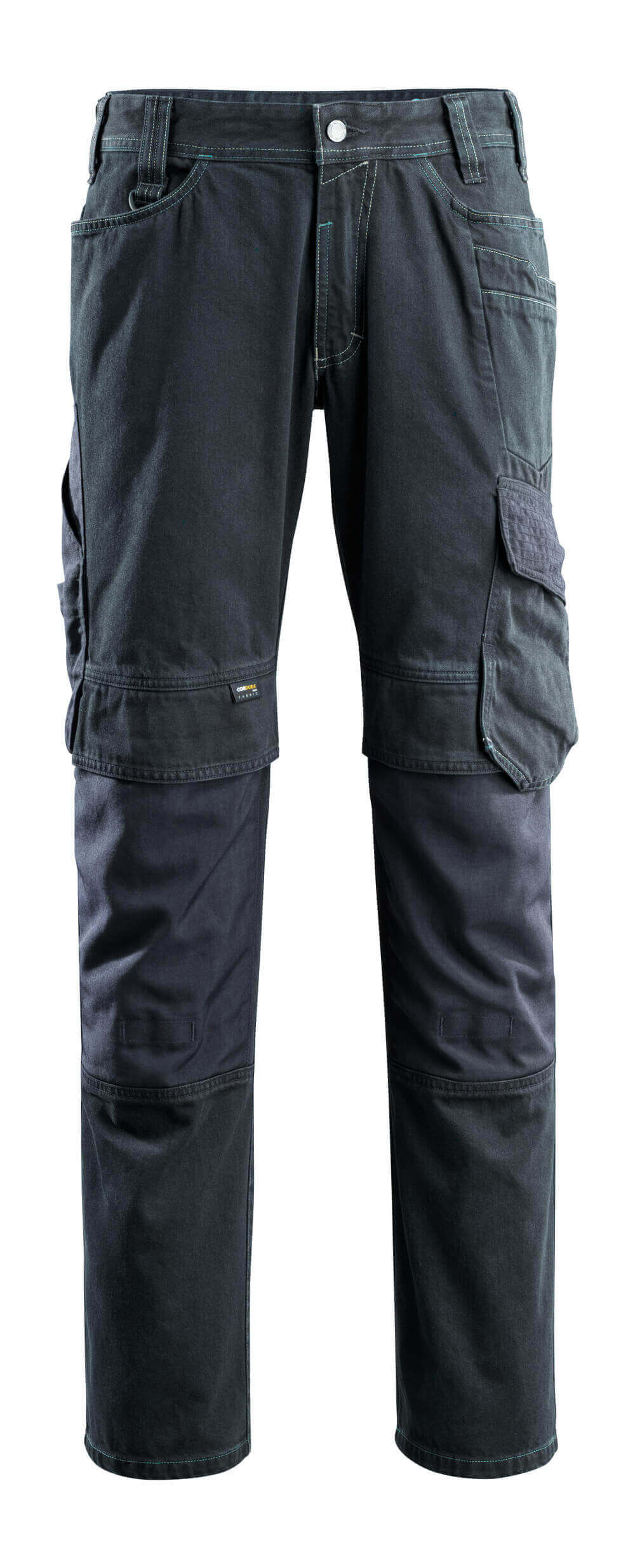 15179-207-86 Jeans mit Knietaschen - Dunkelblauer Denim