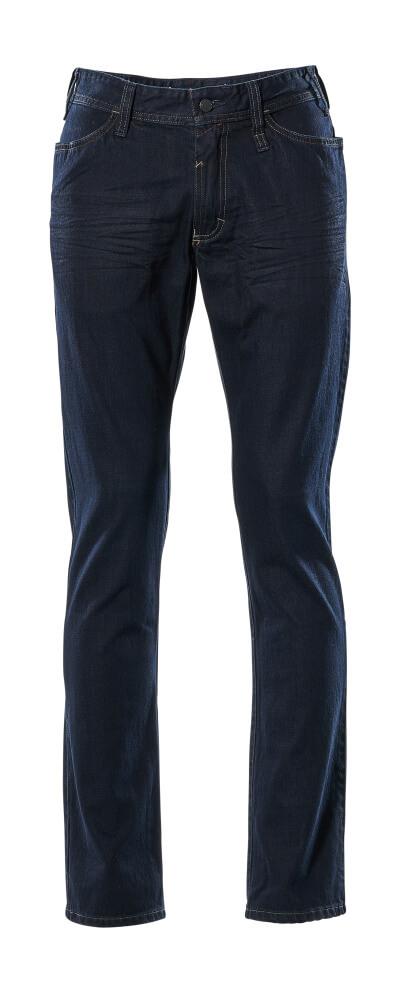 15379-869-66 Jeans - Gewaschener dunkelblauer Denim