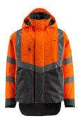 15501-231-1418 Hard Shell Jacke - hi-vis Orange/Dunkelanthrazit