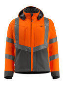 15502-246-1418 Soft Shell Jacke - hi-vis Orange/Dunkelanthrazit