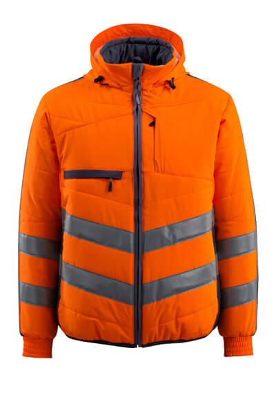 15515-249-14010 Jacke - hi-vis Orange/Schwarzblau