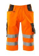 15549-860-1418 Shorts, lang - hi-vis Orange/Dunkelanthrazit