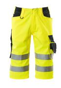 15549-860-17010 Shorts, lang - hi-vis Gelb/Schwarzblau