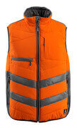 15565-249-1418 Winterweste - hi-vis Orange/Dunkelanthrazit