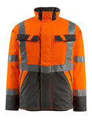 15935-126-1418 Winterjacke - hi-vis Orange/Dunkelanthrazit