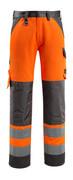 15979-948-1418 Hose mit Knietaschen - hi-vis Orange/Dunkelanthrazit