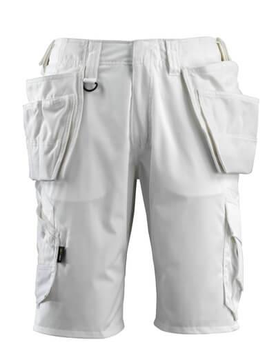 16049-230-06 Shorts mit Hängetaschen - Weiß