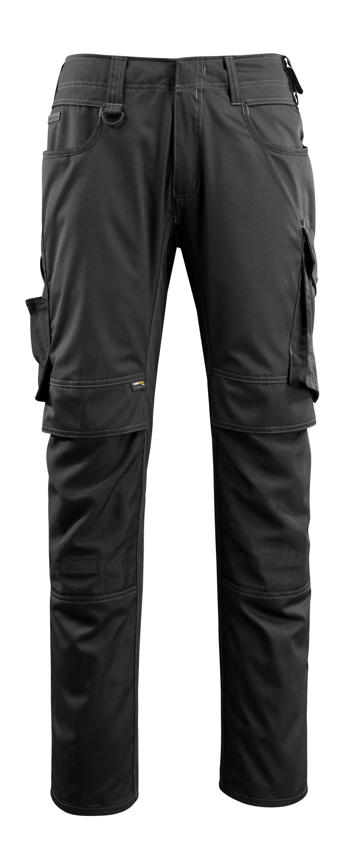 16079-230-09 Hose mit Knietaschen - Schwarz