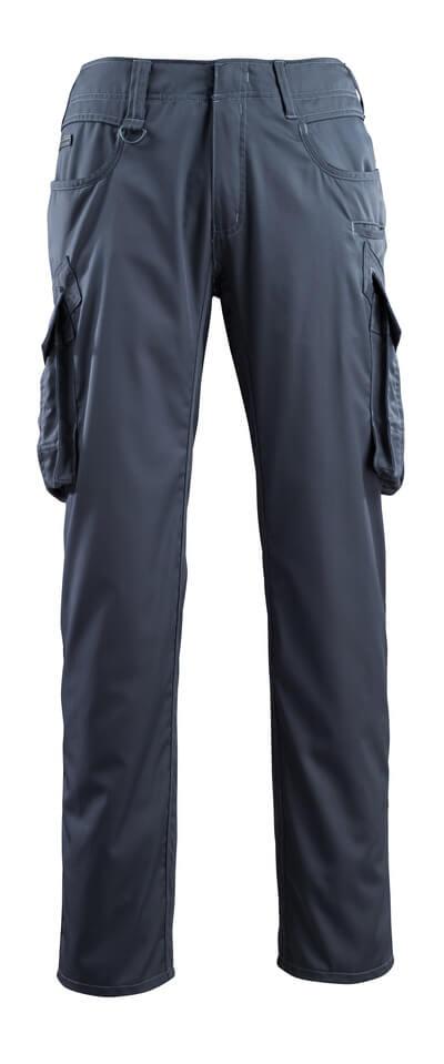 16179-230-010 Hose mit Schenkeltaschen - Schwarzblau