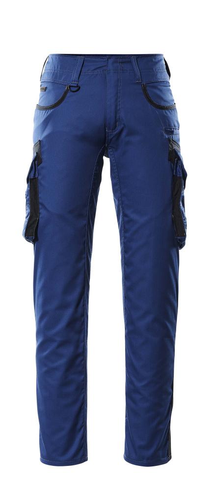 16279-230-11010 Hose mit Schenkeltaschen - Kornblau/Schwarzblau