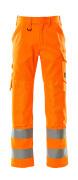 16879-860-14 Hose mit Knietaschen - hi-vis Orange