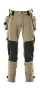 17031-311-010 Hose mit Knie- und Hängetaschen - Schwarzblau