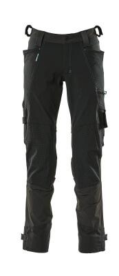 17079-311-09 Hose mit Knietaschen - Schwarz