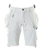 17149-311-06 Shorts mit Hängetaschen - Weiß