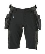 17149-311-09 Shorts mit Hängetaschen - Schwarz