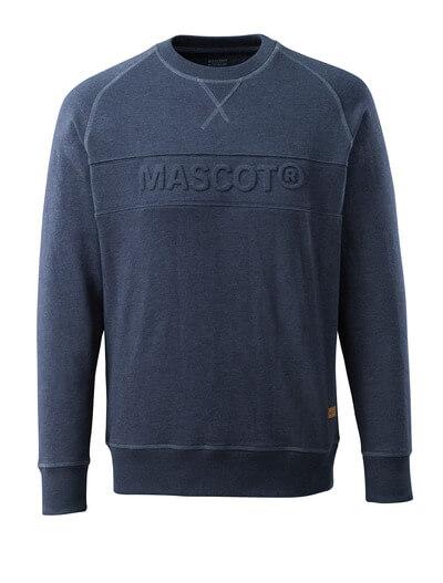 17184-830-66 Sweatshirt - Gewaschener dunkelblauer Denim