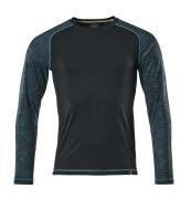 17281-944-010 T-Shirt, Langarm - Schwarzblau