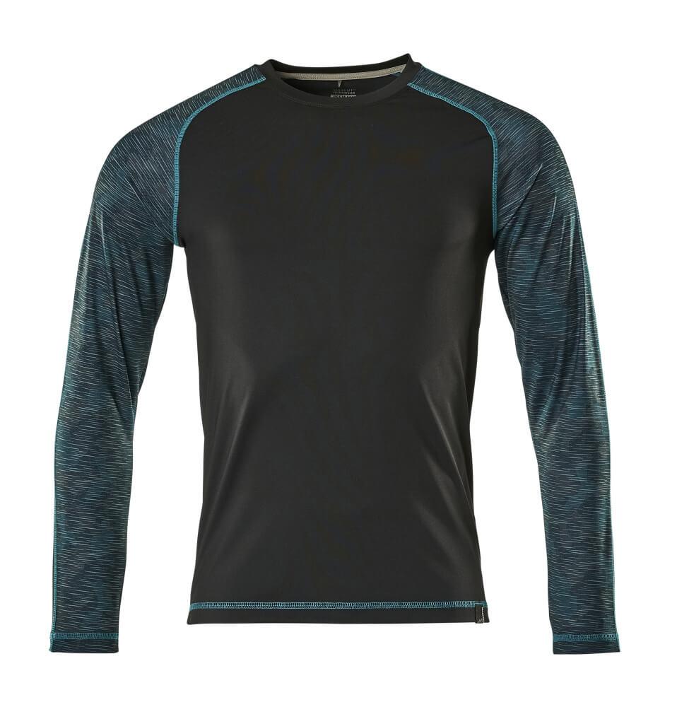 17281-944-09 T-Shirt, Langarm - Schwarz