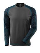 17281-944-18 T-Shirt, Langarm - Dunkelanthrazit