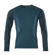 17281-944-44 T-Shirt, Langarm - Dunkelpetroleum