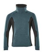 17584-319-4409 Sweatshirt - Dunkelpetroleum/Schwarz