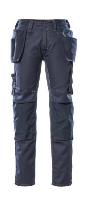 17731-442-010 Hose mit Knie- und Hängetaschen - Schwarzblau