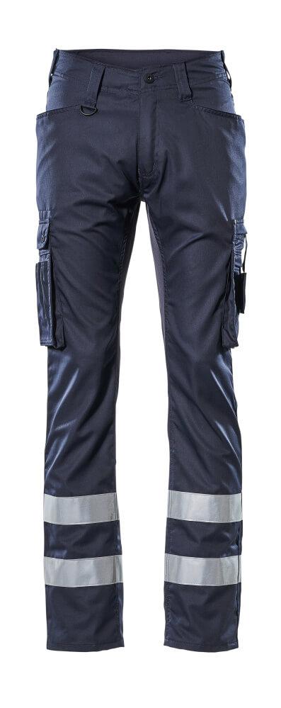 17879-230-010 Hose mit Schenkeltaschen - Schwarzblau